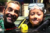 PADI Bubblmaker with DSM Dive Gili Trawangan Lombok Indonesia