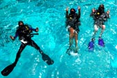 Padi Open Water Courses in Gili Islands with DSM DIVE Center, Small Group