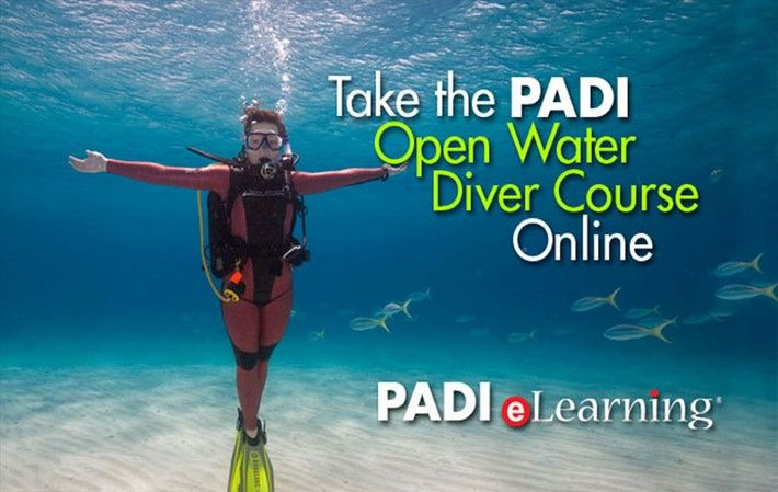 PADI Open Water Course Elearning